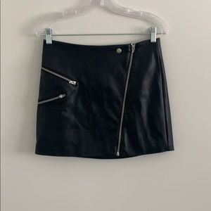 Kendall and Kylie Faux Leather Skirt